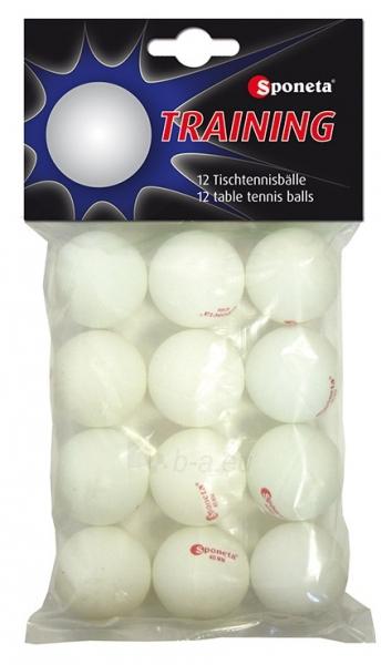 Stalo teniso kamuoliukai SPONETA PRACTICE 199.030 12vnt Paveikslėlis 1 iš 1 310820231487
