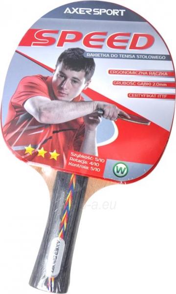 Stalo teniso raketė Axer SPEED A2056 Paveikslėlis 1 iš 1 310820205437