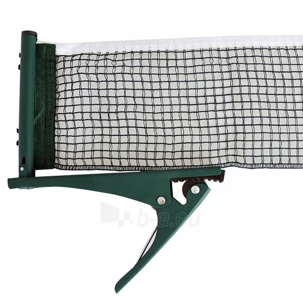 Stalo teniso tinklelis ir laikiklis inSPORTline, žalias Paveikslėlis 1 iš 1 30074900011