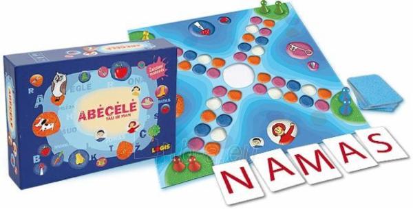 Stalo žaidimas Abėcėlė tau ir man Paveikslėlis 2 iš 2 30051700397