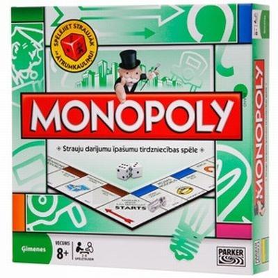 Stalo žaidimas HASBRO 00009L MONOPOLY STANDARD Paveikslėlis 1 iš 1 30051700213