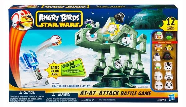 Stalo žaidimas Mattel A2373 Angry Birds Paveikslėlis 1 iš 1 30051700218