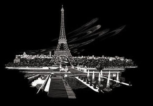 Stalo žaidimas ROYAL BRUSH ENGRAVING ART FAM3 Hobby Eiffel Tower Paveikslėlis 1 iš 1 30051700027