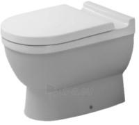 Starck III tualete, tvirtinamas prie grindų, baltas Paveikslėlis 1 iš 1 270713000647