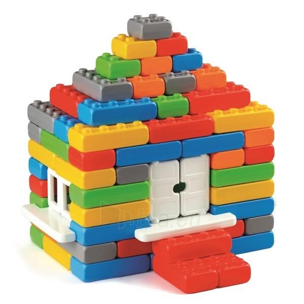 """Statybinės kaladėlės """"Plytos Junior"""" 90 detalių Paveikslėlis 1 iš 3 310820251515"""