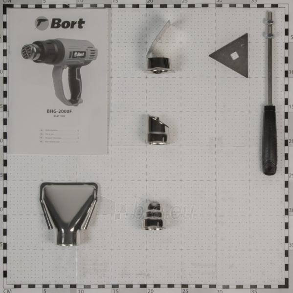 Statybinis fenas BORT BHG-2000F Paveikslėlis 5 iš 7 310820241035