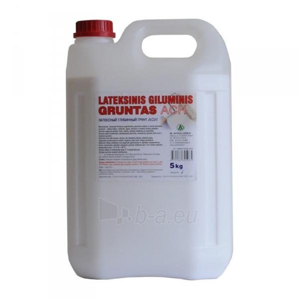 Statybinis lateksinis giluminis gruntas ACH 10l Paveikslėlis 1 iš 1 310820005446