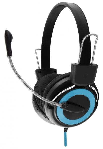 Stereo ausinės su mikrofonu Esperanza EH152B Garso reguliavimas Paveikslėlis 1 iš 7 250255090869