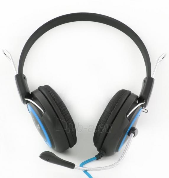 Stereo ausinės su mikrofonu Esperanza EH152B Garso reguliavimas Paveikslėlis 4 iš 7 250255090869