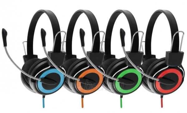 Stereo ausinės su mikrofonu Esperanza EH152B Garso reguliavimas Paveikslėlis 5 iš 7 250255090869