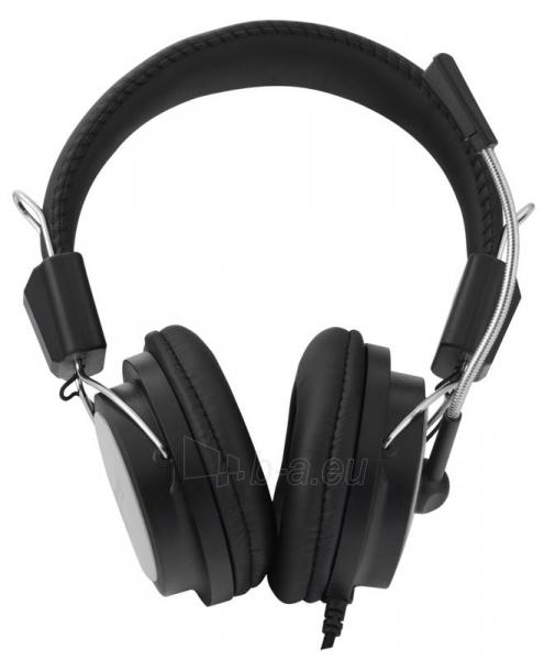 Stereo ausinės su mikrofonu Esperanza EH154K Garso reguliavimas Black / grey Paveikslėlis 1 iš 6 250255091011