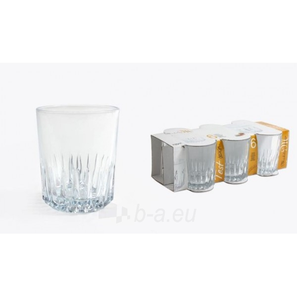 Stiklinės 6vnt 235ml TEST 23255 Paveikslėlis 1 iš 1 310820030449