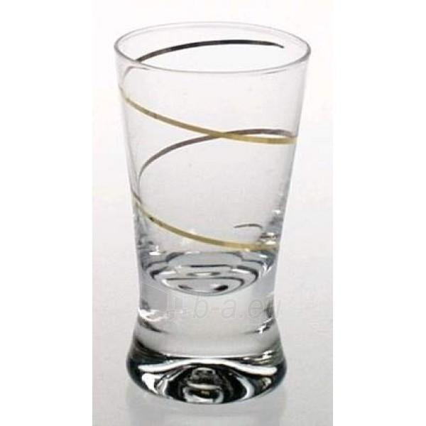 Stikliukai 6 vnt. X Orka su auksine spirale 25 ml Paveikslėlis 1 iš 1 310820030466