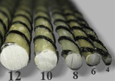 Stiklo-bazalto pluošto armatūra Ø 6 mm Paveikslėlis 2 iš 2 236416000155