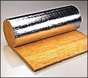Stiklo vatos demblis ISOVER KIM-AL 100 (pakas - 4.8m2) Paveikslėlis 1 iš 1 270362000020