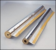 Stiklo vatos kevalas su lipnia užlaida ISOVER KK-AL d 89-50mm Paveikslėlis 1 iš 1 270362000086