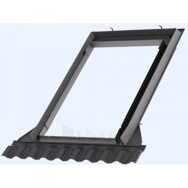 Roof window gasket VELUX EDW M08 78 x140 BDX, for profiled roof Paveikslėlis 1 iš 1 237910000556