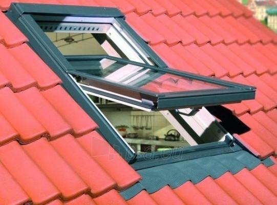 Roof windows FAKRO FTP-V with glass U3, 78x118 cm, pine wood Paveikslėlis 3 iš 4 237910000406