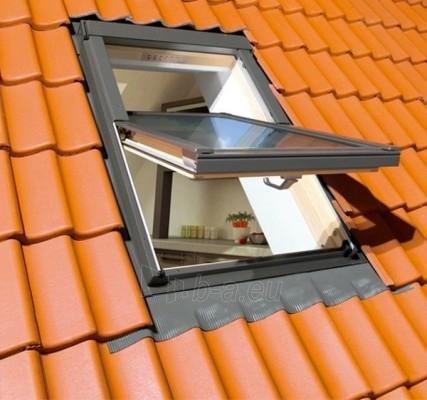 Lūka FAKRO FTS-V ar stiklu U2,  94x140   cm, priedes koksnes Paveikslėlis 3 iš 4 237910000397