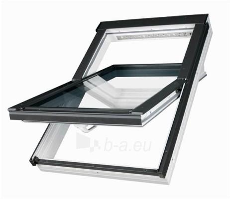Roof windows FAKRO PTP-V with glass U3 and hatch V35, 78x98 cm, PVC, white Paveikslėlis 1 iš 6 237910000428