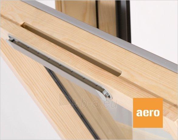 Stoglangis RoofLITE AERO AVX500 78x98 cm, medinis su ventiliacija Paveikslėlis 2 iš 2 237910000501