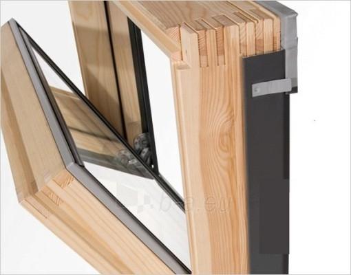 Stoglangis RoofLITE CORE AAX500 55x78 cm, medinis Paveikslėlis 2 iš 2 237910000379