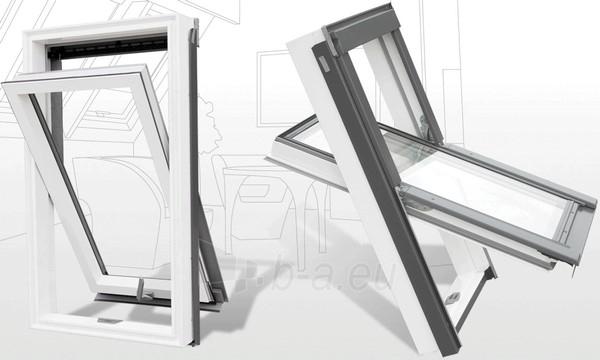 Roof Windows RoofLITE DURO APX700 78x140 cm, PVC Paveikslėlis 2 iš 2 237910000388