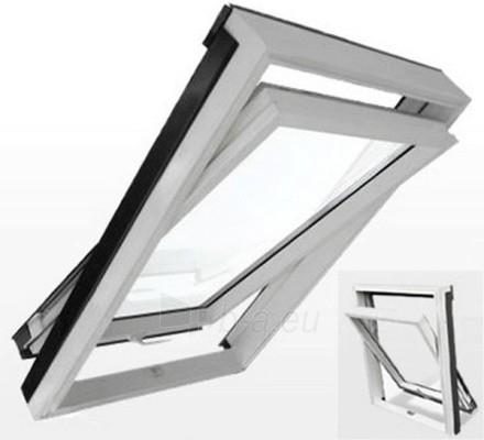 Roof Windows RoofLITE DURO APX700 78x140 cm, PVC Paveikslėlis 1 iš 2 237910000388