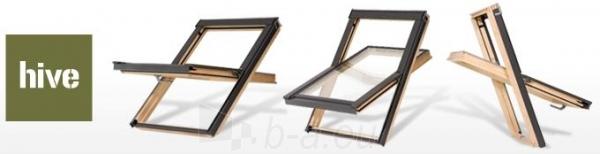 Lūka RoofLITE HIVE DPX500 78x140 cm, koka Paveikslėlis 2 iš 2 237910000498