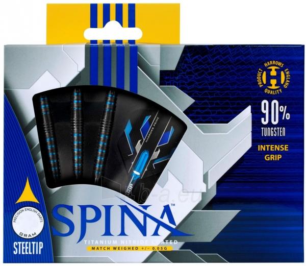 Strėlytės Darts Steeltip SPINA BLACK 90% 3x26gR Paveikslėlis 1 iš 2 310820231546