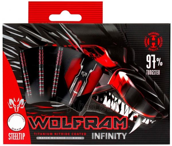 Strėlytės Darts Steeltip VOLFRAM INFINITY 97% 3x22gR Paveikslėlis 1 iš 2 310820231541