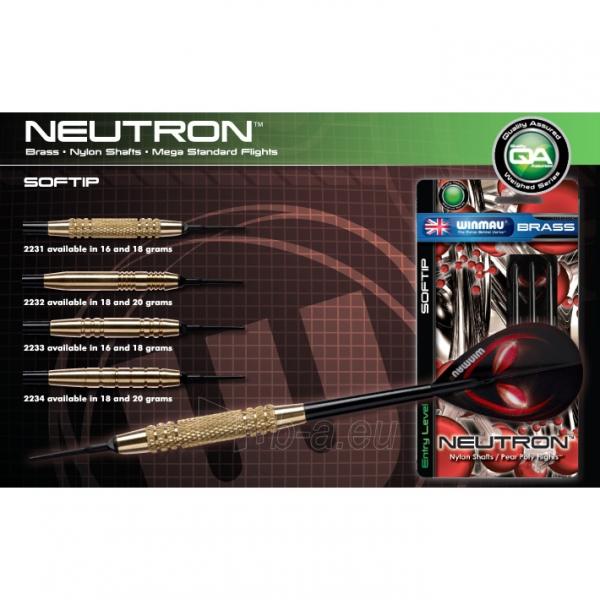 Strėlytės Neutron Brass Darts 20g. Paveikslėlis 1 iš 1 310820080176