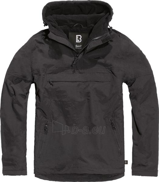 Striukė Windbreaker black Brandit Paveikslėlis 1 iš 1 310820212650