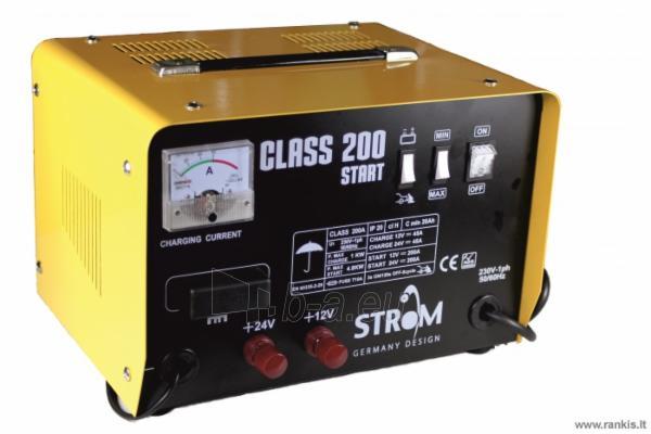 STROM CLASS-200 AKUMULIATORIAUS ĮKROVIKLIS SU PALEIDIMO FUNKCIJA Paveikslėlis 1 iš 1 310820017723