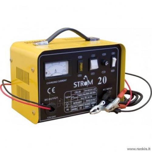 STROM ST-20 akumuliatorių įkroviklis Paveikslėlis 1 iš 1 310820017725