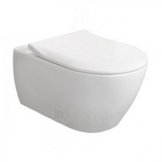 Subway 2.0 Direct Flush hanging toilet with plonu soft close Paveikslėlis 4 iš 5 310820079467
