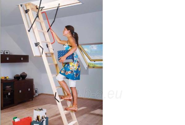 Folding Section Loft Ladders Fakro Lws Smart 60x111x280 3