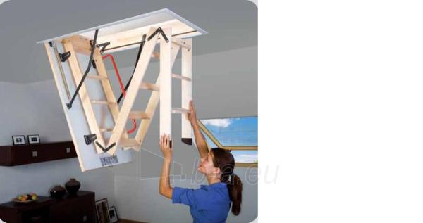 Sudedami laiptai FAKRO LWS smart 60x130x280 3 segmentų Paveikslėlis 3 iš 8 237960000015