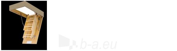 Sudedami laiptai FAKRO LWS smart 60x130x280 3 segmentų Paveikslėlis 4 iš 8 237960000015