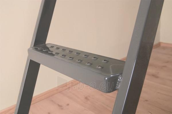 3 - section metal loft ladder FAKRO LML 70x130x305 Paveikslėlis 2 iš 2 2379600000105
