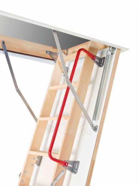 3-section folden wooden loft ladder FAKRO LWZ 70x140x305 cm Paveikslėlis 3 iš 4 2379600000068