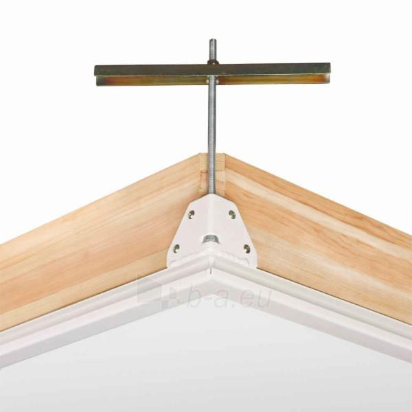 3-section folden wooden loft ladder FAKRO LWZ 70x140x305 cm Paveikslėlis 4 iš 4 2379600000068