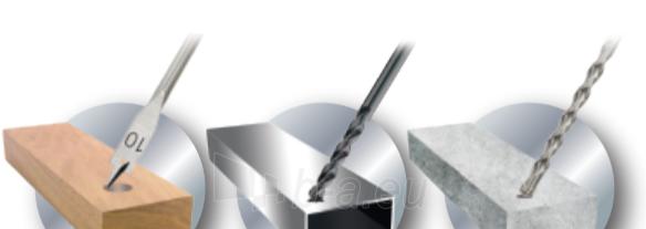 Sukimo ir gręžimo priedų rinkinys DEDRA 18A11S246, 246vnt. Paveikslėlis 3 iš 3 310820242377