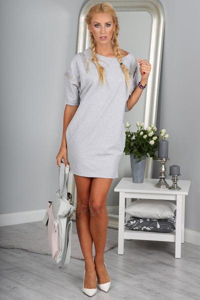 Suknelė Ahana (šviesiai pilkos spalvos) Paveikslėlis 1 iš 4 310820045622