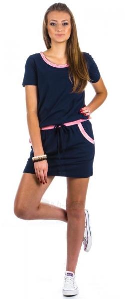 Suknelė Aja (tamsiai mėlynos spalvos) Paveikslėlis 1 iš 2 310820032851