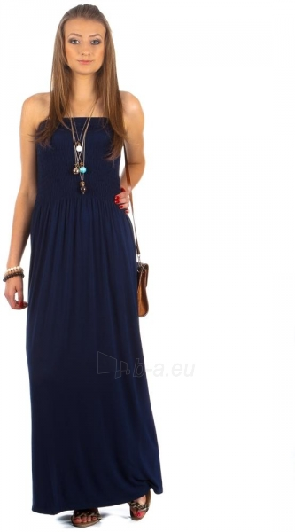 Suknelė Alva (tamsiai mėlyna) Paveikslėlis 1 iš 2 310820032849