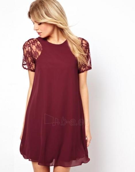 Suknelė Antonia (boordinės spalvos) Paveikslėlis 1 iš 3 310820047411