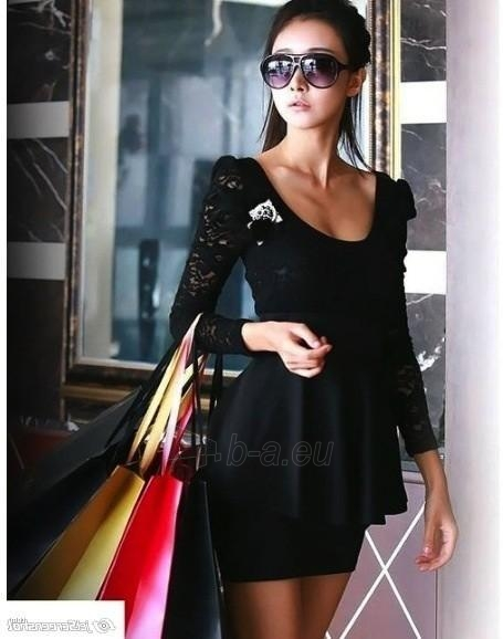 Suknelė Ariadne (juodos spalvos) Paveikslėlis 1 iš 8 310820047410