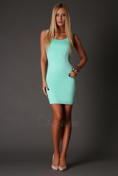 Suknelė Augusta (mėtinės spalvos) Paveikslėlis 1 iš 3 310820034722