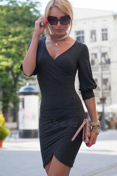 Suknelė Ava (pilkos spalvos) Paveikslėlis 1 iš 4 310820035821